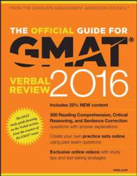 The Official Guide for GMAT Verbal Review 2016 (Official Guide for Gmat Verbal Review) (PAP/PSC)