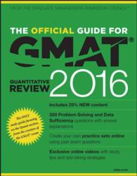 The Official Guide for GMAT Quantitative Review 2016 (Official Guide for Gmat Quantitative Review) (PAP/PSC ST)