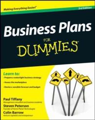 Business Plans for Dummies -- Paperback (3 Rev ed)
