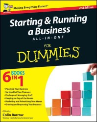 Starting and Running a Business All-in-one for Dummies -- Paperback (UK ed)