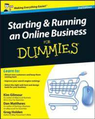 Starting and Running an Online Business for Dummies -- Paperback (UK edition)