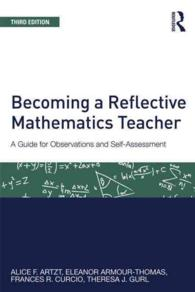 �N���b�N����ƁuBecoming a Reflective Mathematics Teacher : A Guide for Observations and Self-assessment (Studies in Mathematical Thinking and Learning)�v�̏ڍ׏��y�[�W�ֈړ����܂�