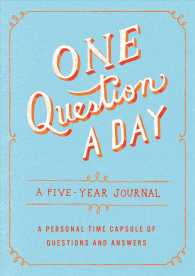 One Question a Day : A Five-year Journal (GJR)