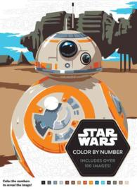 Star Wars Color by Number (CLR CSM)