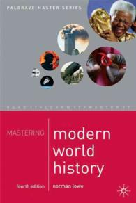 Mastering Modern World History (4TH)