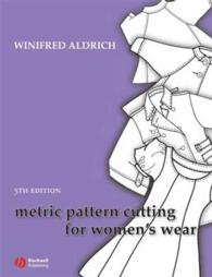 Metric Pattern Cutting for Women's Ware (5TH)