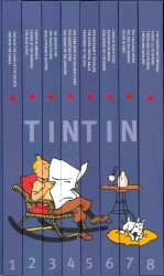 Complete Adventures of Tintin (The Adventures of Tintin) -- Hardback (Compact ed)