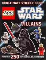 Lego Star Wars Villains Ultimate Sticker Book -- Paperback
