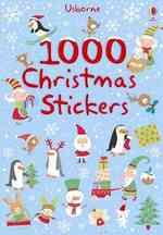 1000 Christmas Stickers (1000s of Stickers) -- Paperback