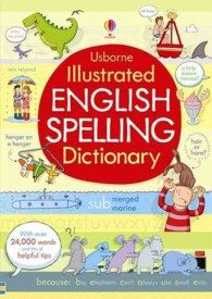 Illustrated English Spelling Dictionary -- Paperback