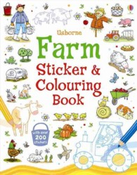 Farm Sticker and Colouring Book -- Paperback