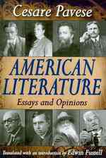 American Literature : Essays and Opinions
