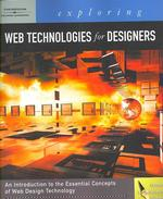 Exploring Web Technologies for Designers (1 PAP/CDR)
