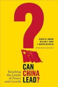 Can China Lead? : Reaching the Limits of Power and Growth