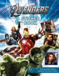 The Avengers Sticker Book (PAP/PSTR)