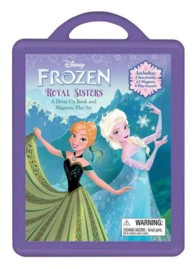 Frozen : A Dress-Up Book and Magnetic Play Set (ACT BOX NO)