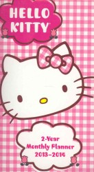 Hello Kitty 2 Year Pocket Planner 2013 Calendar (EGMT)