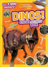 Dinos (Ng Sticker Activity Books) (ACT STK)