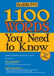 1100 Words You Need to Know (1100 Words You Need to Know) (6TH)