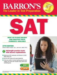 Barron's SAT (Barron's Sat (Book Only)) (27TH)