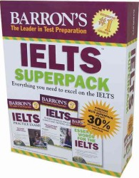 Barron's IELTs Superpack (8-Volume Set) : Everything You Need to Excel on the Ielts <8 vols.> (8 vols.) (BOX PAP/CO)
