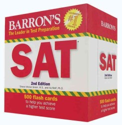 Barron's SAT Flash Cards (2 FLC CRDS)