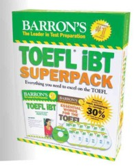 Barron's TOEFL IBT Superpack (13-Volume Set) : Everything You Need to Excel on the Toefl <13 vols.> (13 vols.) (14 BOX PCK)