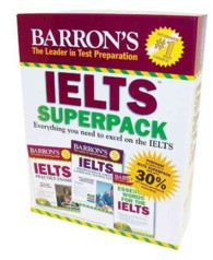 Barrons IELTS Superpack (3 PAP/COM)