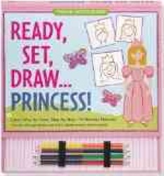 Ready, Set, Draw... Princess! (Young Artist Series) (SPI)