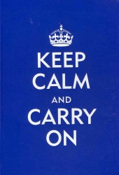 Keep Calm and Carry on Blue Journal (JOU)
