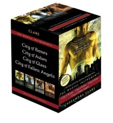 The Mortal Instruments (4-Volume Set) : City of Bones / City of Ashes / City of Glass / City of Fallen Angels (Mortal Instruments) <4 vols.> (4 vols.) (SLP)