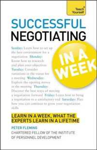Teach Yourself Successful Negotiating in a Week (Teach Yourself) (Reissue)