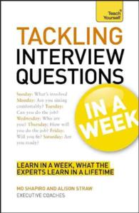 Tackling Interview Questions in a Week (Teach Yourself)