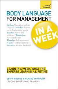 Teach Yourself Body Language for Management in a Week (Teach Yourself in a Week) (Reprint)