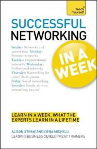 Teach Yourself Successful Networking in a Week (Teach Yourself in a Week) (Reprint)