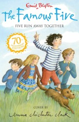 Five Run Away Together (Famous Five 70th Anniversary) -- Paperback (70 Anniver)