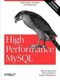 High Performance MySQL : Optimization, Backups, and Replication (3RD)