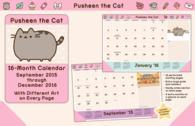 Pusheen the Cat 2016 /desk pad
