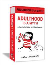 Sarah's Scribbles 2019 Calendar : Adulthood Is a Myth (Deluxe)