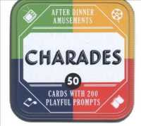 After Dinner Amusements - Charades : 50 Cards with 200 Playful Prompts (BOX GMC CR)