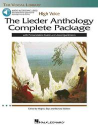 The Lieder Anthology Complete Package : High Voice (The Vocal Library) (PAP/CDR/CO)