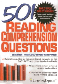 501 Reading Comprehension Questions (501 Reading Comprehension Questions) (5TH)