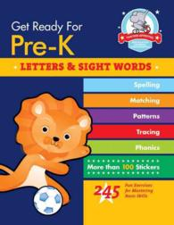 Get Ready for Pre-K: Letters & Sight Words (Get Ready for Pre-k) (ACT CSM)