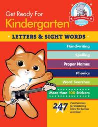 Get Ready for Kindergarten: Letters & Sight Words (Get Ready for Kindergarten) (ACT CSM)
