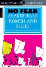 Sparknotes Romeo and Juliet No Fear Shakespeare (No Fear Shakespeare)
