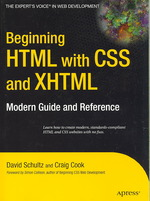 Beginning HTML with CSS & XHTML (2007. 350 p.)