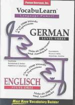 Vocabulearn German : Level 3 (Vocabulearn) (COM/BKLT)