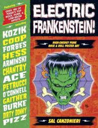Electric Frankenstein : High-Energy Punk Rock & Roll Poster Art