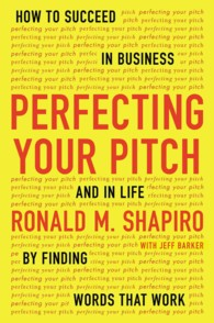 Perfecting Your Pitch : How to Succeed in Business and in Life by Finding Words That Work