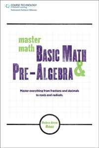 Master Math : Basic Math and Pre-algebra (Master Math Series)